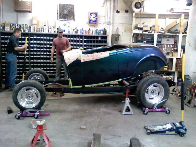 1932 Ford With a Lexus V8 | Midnight Hot Rods